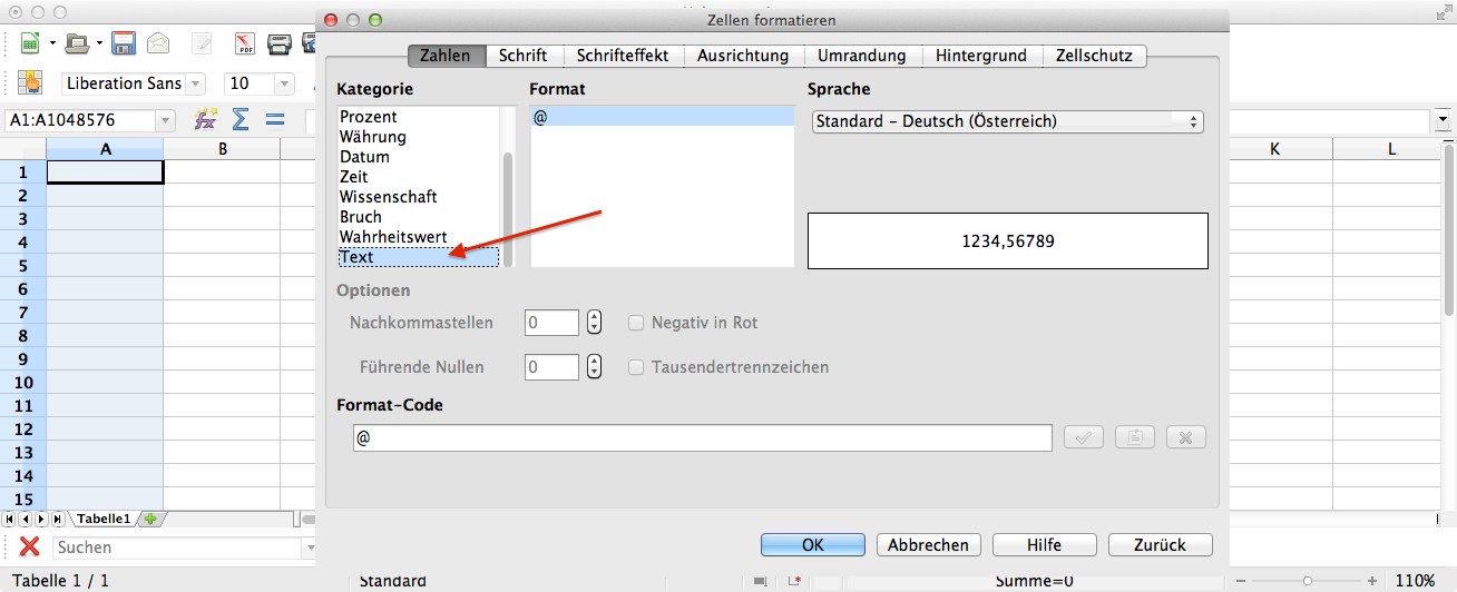 Anleitung preisspiegel nach openoffice kopieren for Tabelle open office