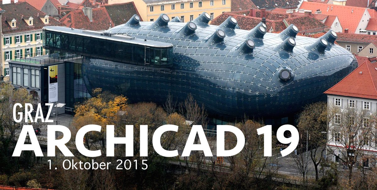 Graz Archicad 19 BIM Veranstaltung 2015